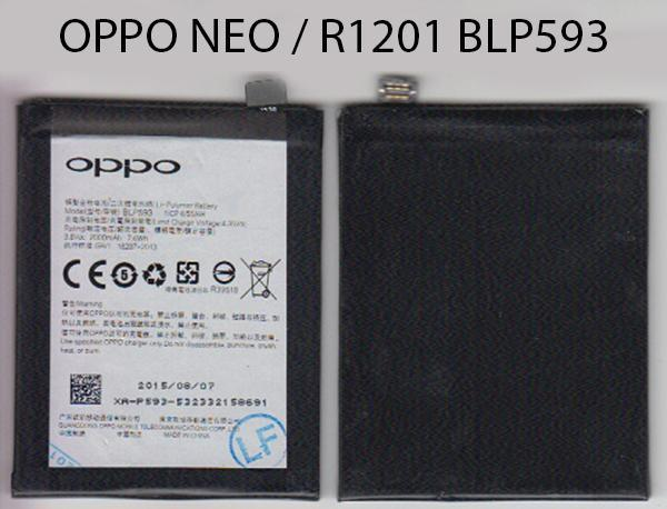 BATTERY OPPO BLP593/NEO 5/R1201 | KLINIK HP