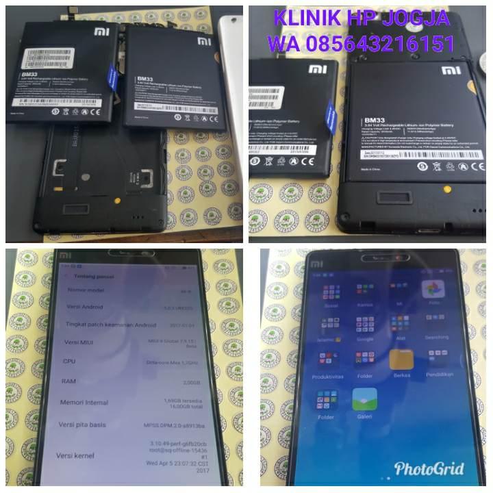 Ganti Baterai Xiaomi Mi 4i Original Klinik Hp